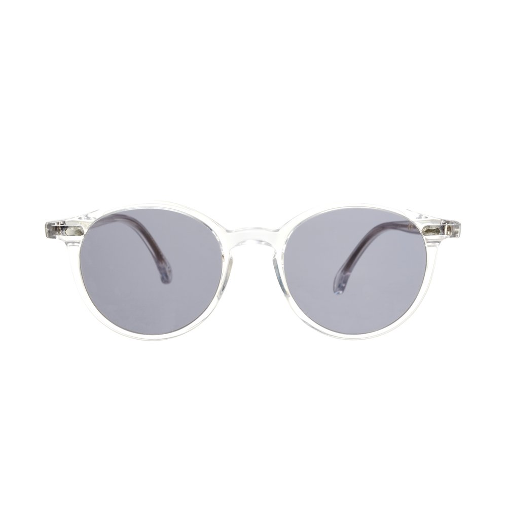 CRAN TRANSPARENT FRAME – GRADIENT GREY LENSES – Sunita Suits